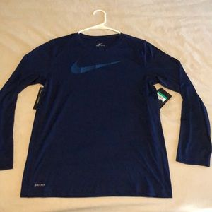 Boys Nike Dri-Fit Long Sleeve